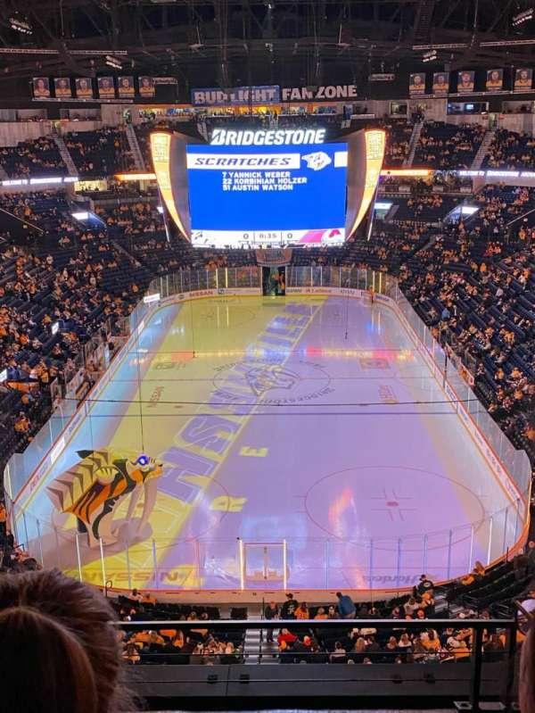 Bridgestone Arena, Abschnitt: 301, Reihe: C, Platz: 12