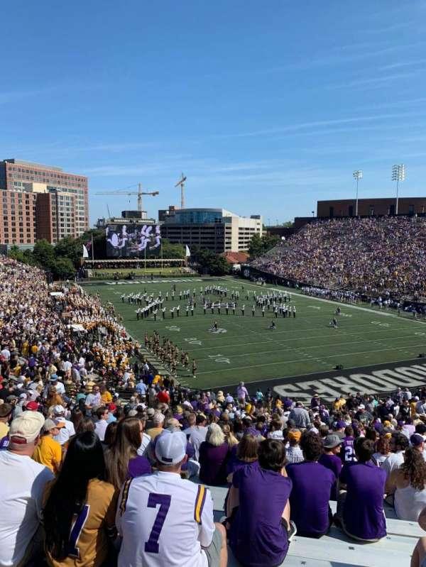 Vanderbilt Stadium, Bereich: End zone L, Reihe: 12