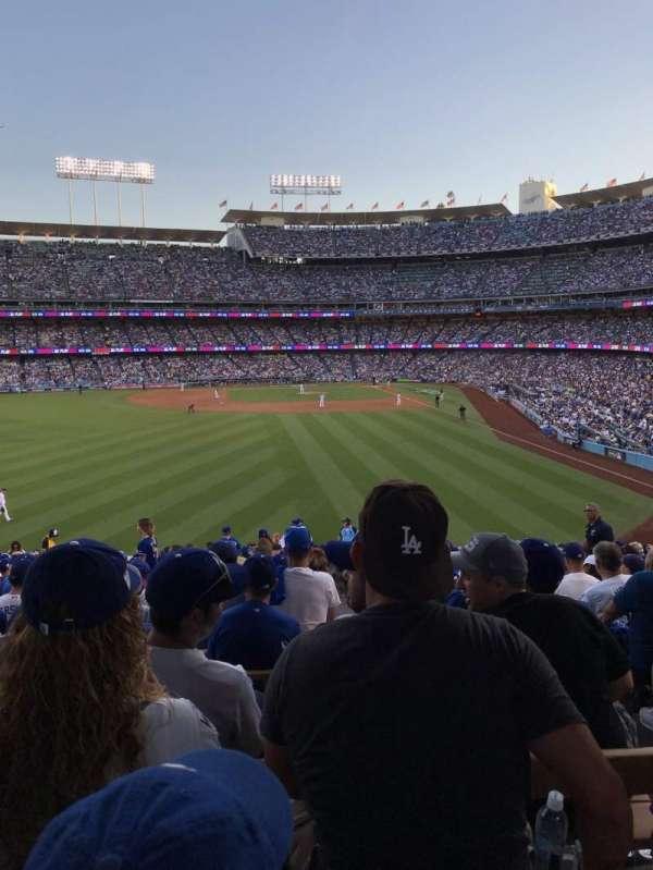 Dodger Stadium, Abschnitt: 303PL, Reihe: Y, Platz: 4