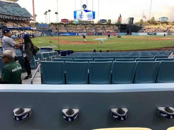 Dodger Stadium, Abschnitt: 6FD, Reihe: B, Platz: 3