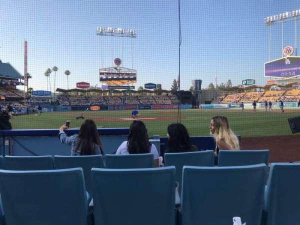 Dodger Stadium, Abschnitt: 1DG, Reihe: EE, Platz: 16