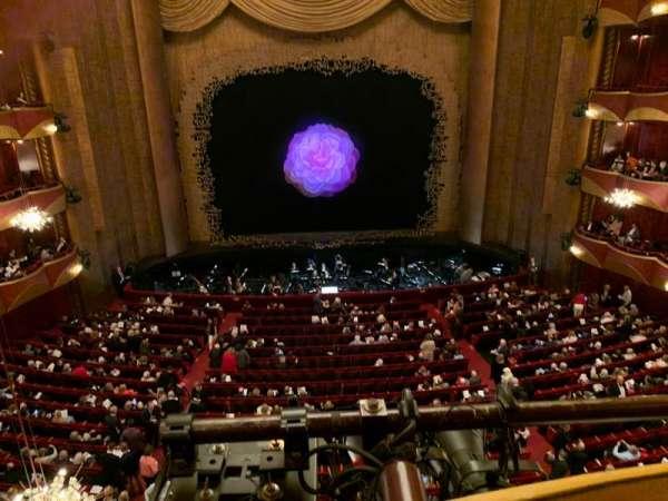 Metropolitan Opera House - Lincoln Center, Abschnitt: Dress Circle, Reihe: A, Platz: 101
