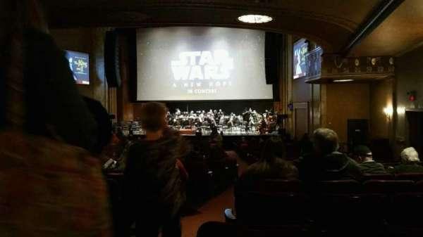 State Theatre New Jersey, Abschnitt: Orchestra, Reihe: AA, Platz: 2