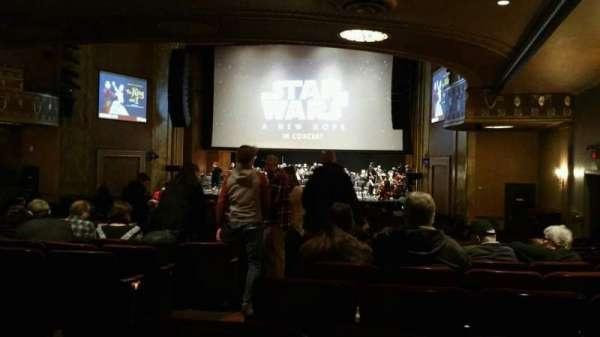State Theatre New Jersey, Abschnitt: Orchestra, Reihe: AA, Platz: 4