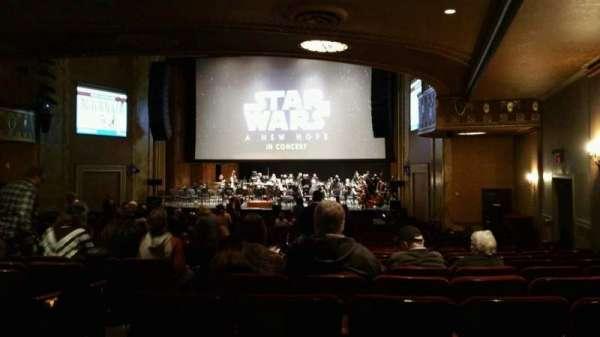 State Theatre New Jersey, Abschnitt: Orchestra, Reihe: AA, Platz: 6