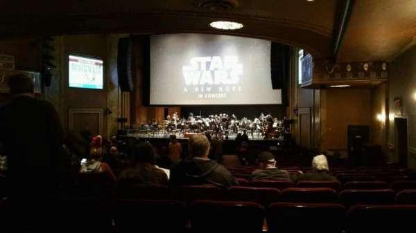 State Theatre New Jersey, Abschnitt: Orchestra, Reihe: AA, Platz: 8