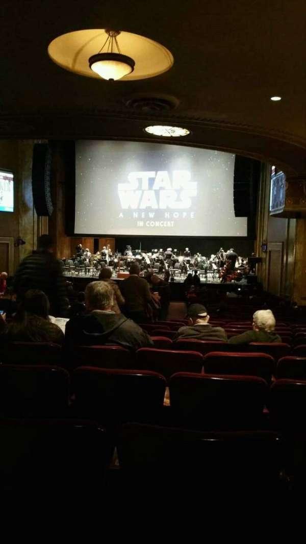 State Theatre New Jersey, Abschnitt: Orchestra, Reihe: AA, Platz: 10