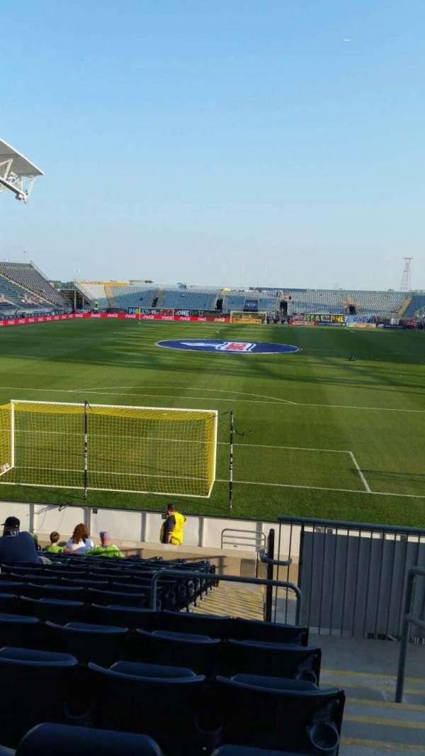 Talen Energy Stadium, Abschnitt: 117, Reihe: Q, Platz: 1