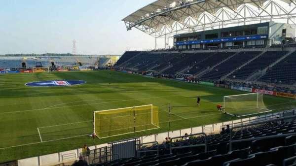 Talen Energy Stadium, Abschnitt: 118