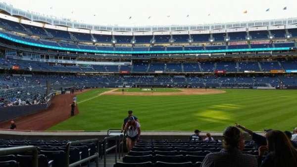 Yankee Stadium, Abschnitt: 105, Reihe: 12, Platz: 24