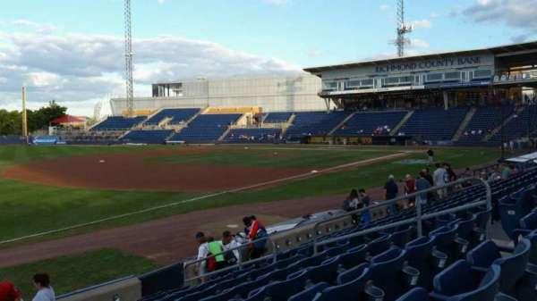 Richmond County Bank Ballpark, Bereich: 3, Reihe: K, Platz: 11
