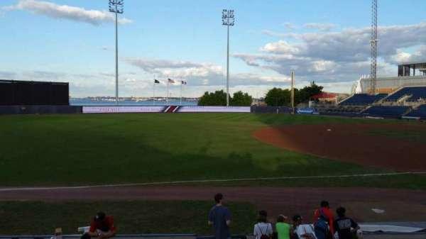 Richmond County Bank Ballpark, Bereich: 3, Reihe: K, Platz: 1