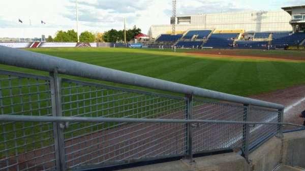Richmond County Bank Ballpark, Abschnitt: 1, Reihe: F, Platz: 19