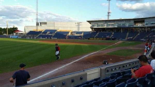 Richmond County Bank Ballpark, Abschnitt: 1, Reihe: F, Platz: 11