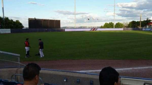 Richmond County Bank Ballpark, Abschnitt: 1, Reihe: F, Platz: 1