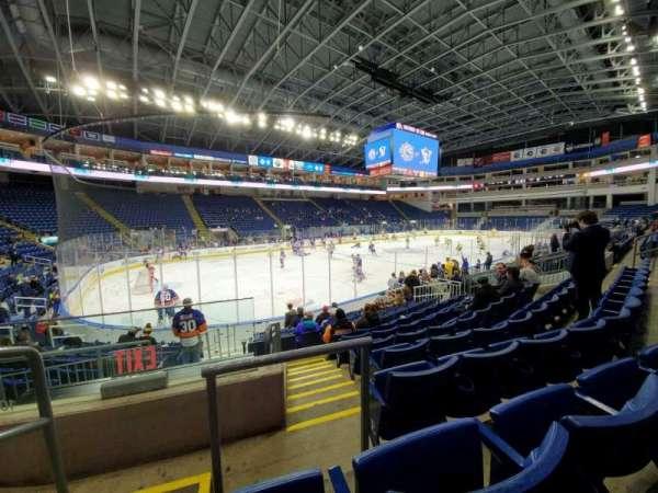 Webster Bank Arena, Abschnitt: 103, Reihe: G, Platz: 16