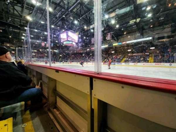 Santander Arena, Abschnitt: 114, Reihe: A, Platz: 7