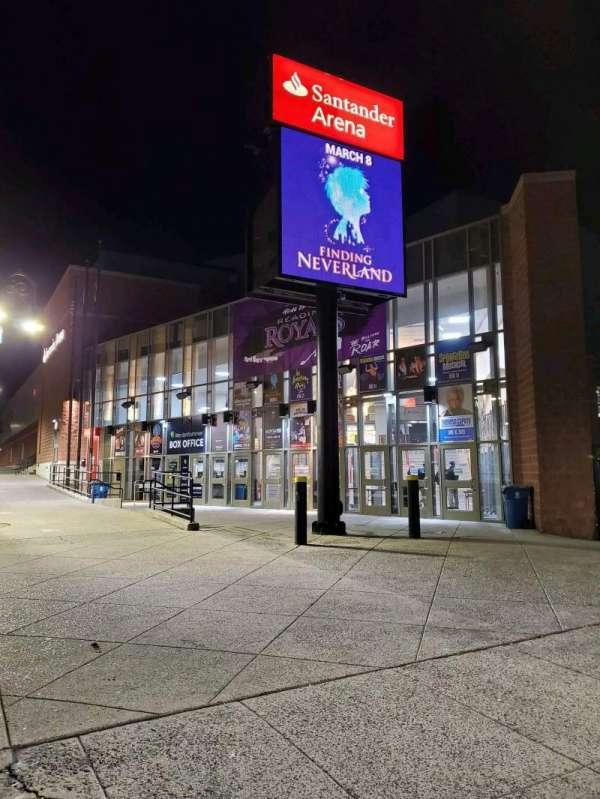 Santander Arena, Abschnitt: EXTERIOR