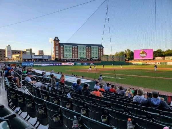 Northeast Delta Dental Stadium, Bereich: 107, Reihe: M, Platz: 5