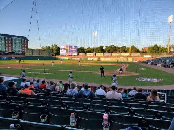 Northeast Delta Dental Stadium, Bereich: 107, Reihe: M, Platz: 6