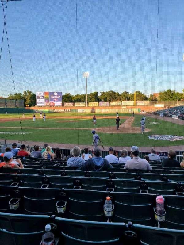 Northeast Delta Dental Stadium, Bereich: 107, Reihe: M, Platz: 7