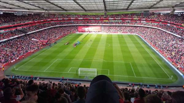 Emirates Stadium, Abschnitt: 123, Reihe: 22, Platz: 894