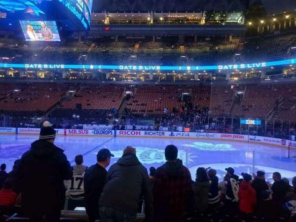 Scotiabank Arena, Abschnitt: 107, Reihe: 11, Platz: 10