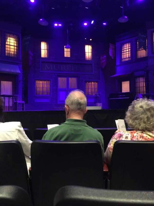 Saint Michaels Playhouse, Bereich: Orch Ctr., Reihe: D, Platz: 15