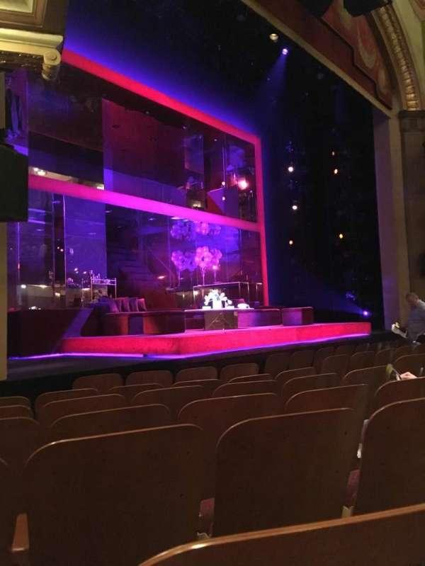 Booth Theatre, Abschnitt: Orch Left, Reihe: E, Platz: 15
