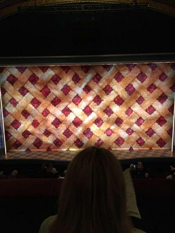 Brooks Atkinson Theatre, Abschnitt: Front Mezzanine C, Reihe: B, Platz: 108
