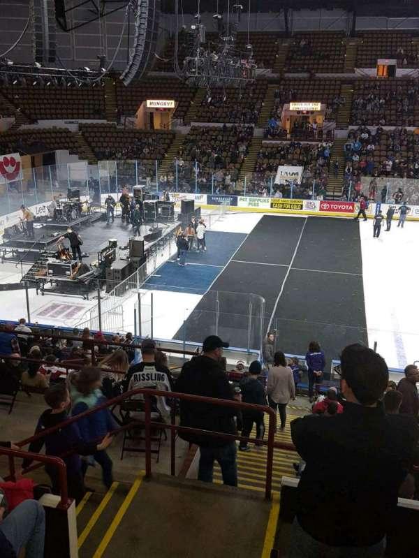 UW-Milwaukee Panther Arena, Abschnitt: 309, Reihe: 5, Platz: 12