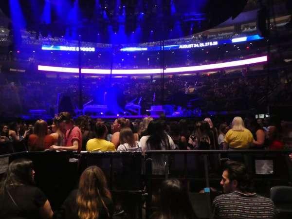 Madison Square Garden, Abschnitt: Floor B, Reihe: 4, Platz: 5