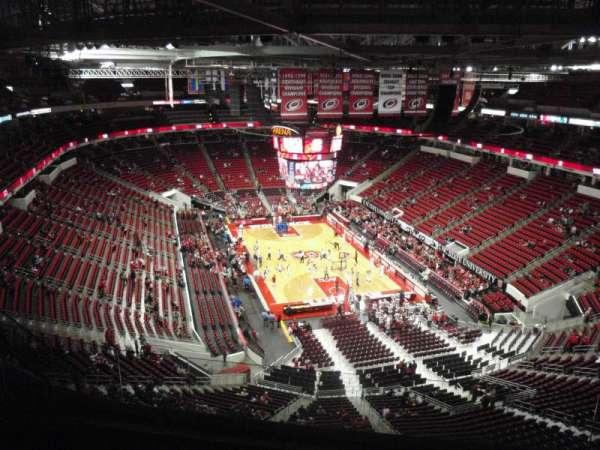 PNC Arena, Abschnitt: 316, Reihe: H, Platz: 7