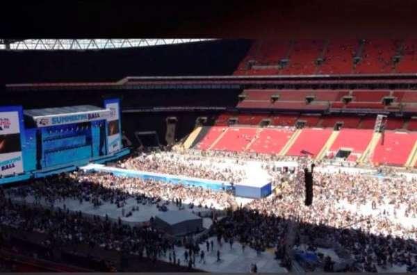 Wembley Stadium, Abschnitt: 526, Reihe: 9, Platz: 371