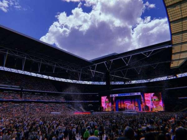 Wembley Stadium, Abschnitt: 105, Reihe: 13, Platz: 68