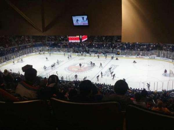 Old Nassau Veterans Memorial Coliseum, Abschnitt: 340, Reihe: T, Platz: 8
