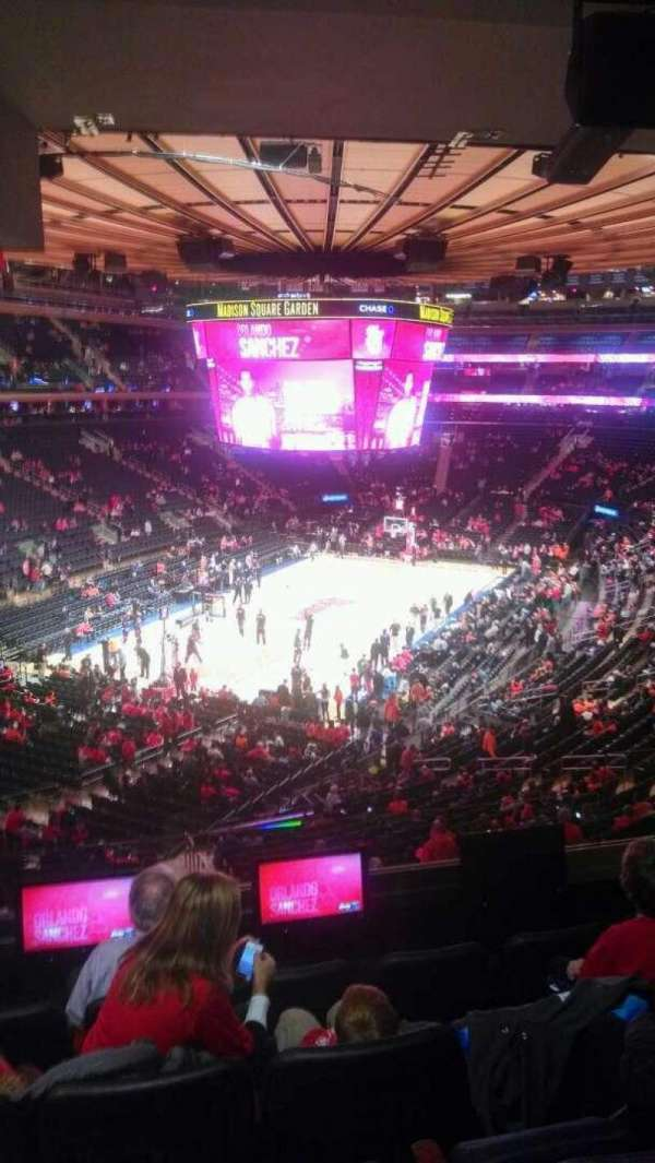 Madison Square Garden, Abschnitt: 206, Reihe: 5, Platz: 13