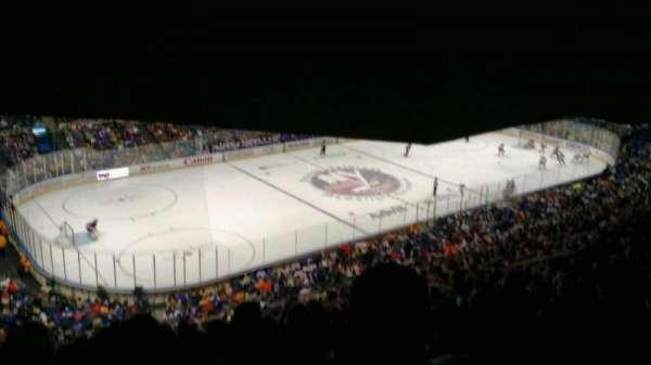 Old Nassau Veterans Memorial Coliseum, Abschnitt: 307, Reihe: S, Platz: 11
