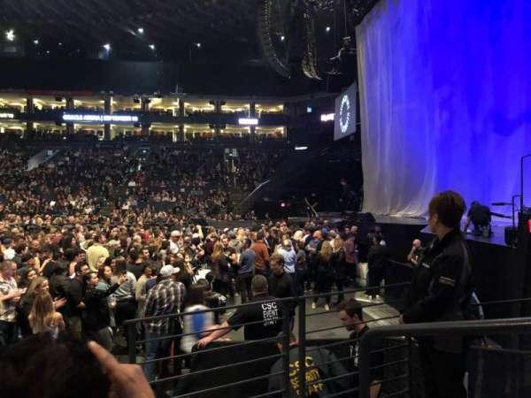 Oakland Arena, Abschnitt: 127, Reihe: 3, Platz: 1