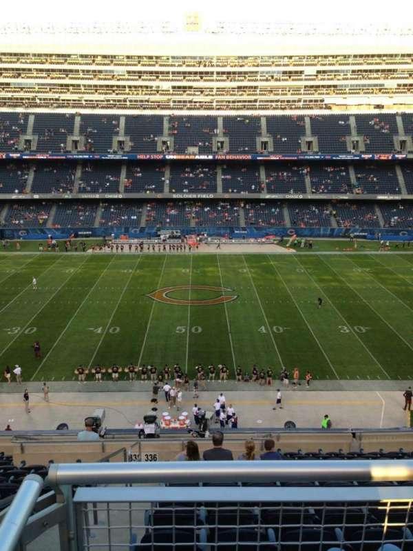 Soldier Field, Abschnitt: 336, Reihe: 13, Platz: 2