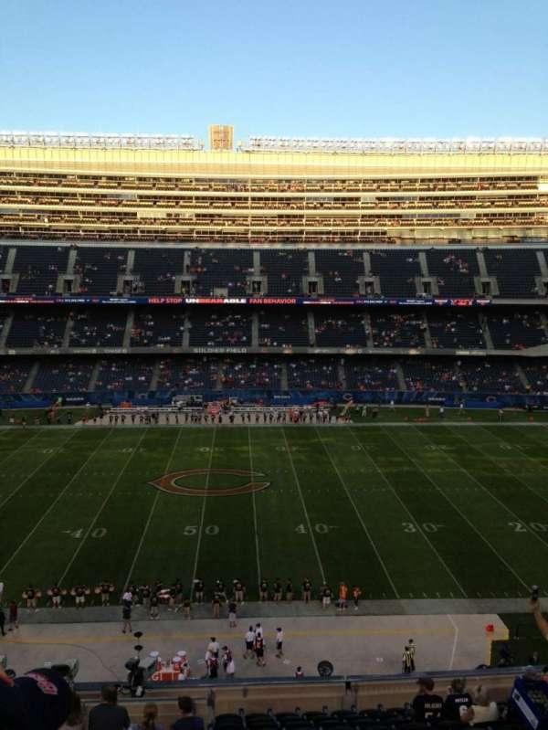 Soldier Field, Abschnitt: 336, Reihe: 13, Platz: 3