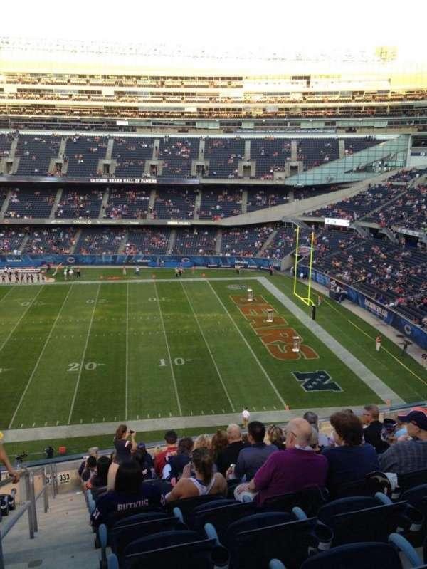 Soldier Field, Abschnitt: 333, Reihe: 14, Platz: 2