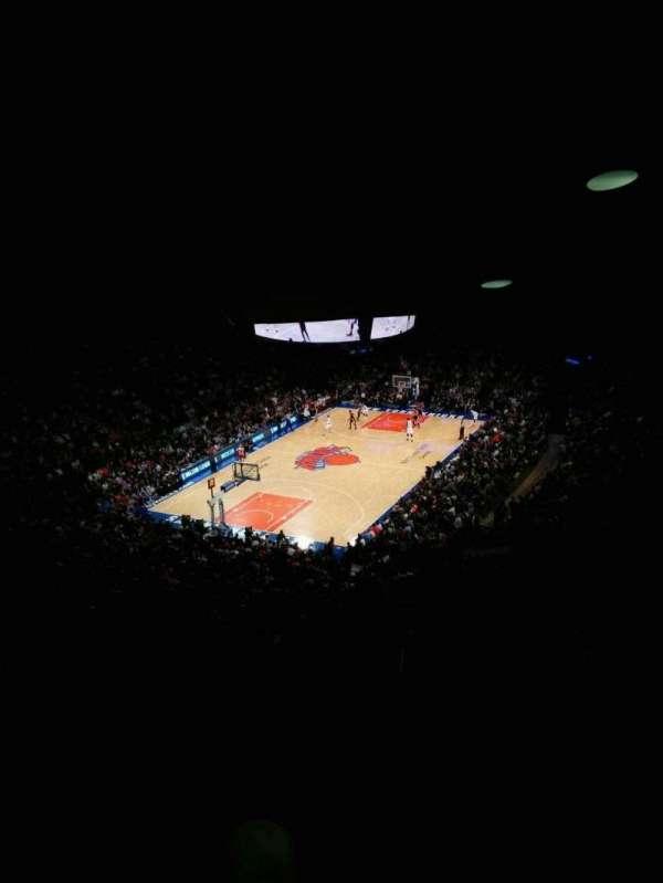 Madison Square Garden, Abschnitt: 419, Reihe: 6, Platz: 9