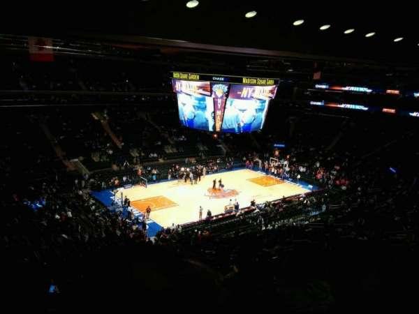 Madison Square Garden, Abschnitt: 208, Reihe: 13, Platz: 11