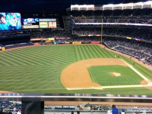 Yankee Stadium, Abschnitt: 425, Reihe: 1, Platz: 18