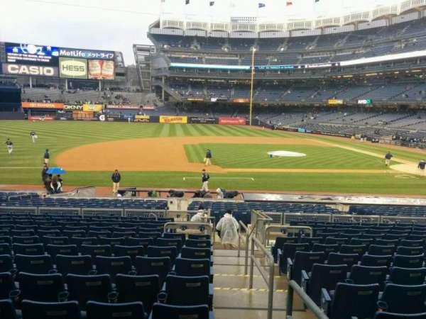 Yankee Stadium, Abschnitt: 125, Reihe: 25, Platz: 1