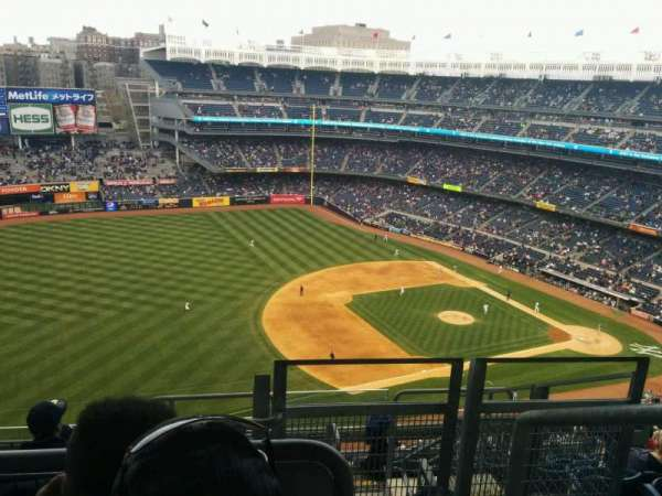 Yankee Stadium, Abschnitt: 428, Reihe: 8, Platz: 1