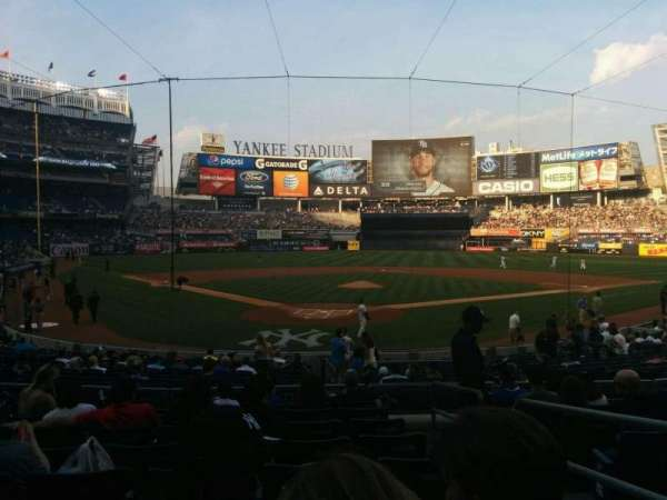 Yankee Stadium, Abschnitt: 120a, Reihe: 20, Platz: 2