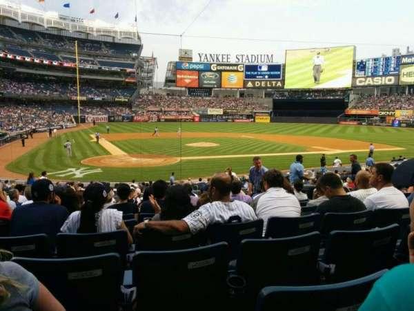 Yankee Stadium, Abschnitt: 118, Reihe: 24, Platz: 5