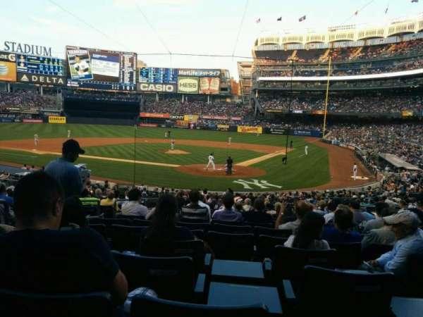 Yankee Stadium, Abschnitt: 121a, Reihe: 26, Platz: 8